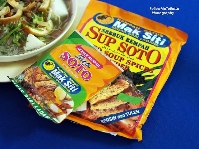 Mak Siti Serbuk Rempah Sup Soto Soto Soup-Mix