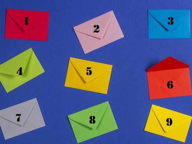 Выберите письмо, которое раскроет ваше настоящее отношение к жизни! Фото эмоции улыбка Тест разочарование интересное выбор