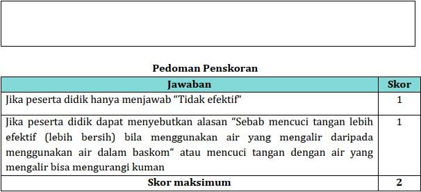 Pedoman penskoran HOTS Bhs. Indonesia