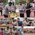 Kapolres Madina Ulang Tahun, Para PJU Dan Personil Berikan Kejutan kue Dan Nasi Tumpeng