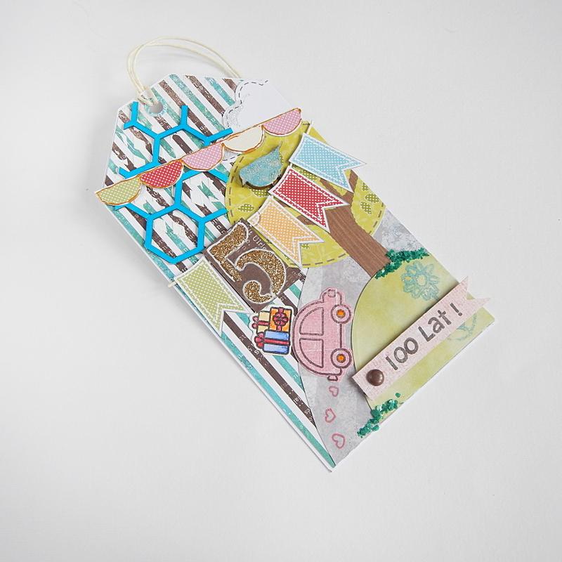 Urodzinowy tag dla chłopca