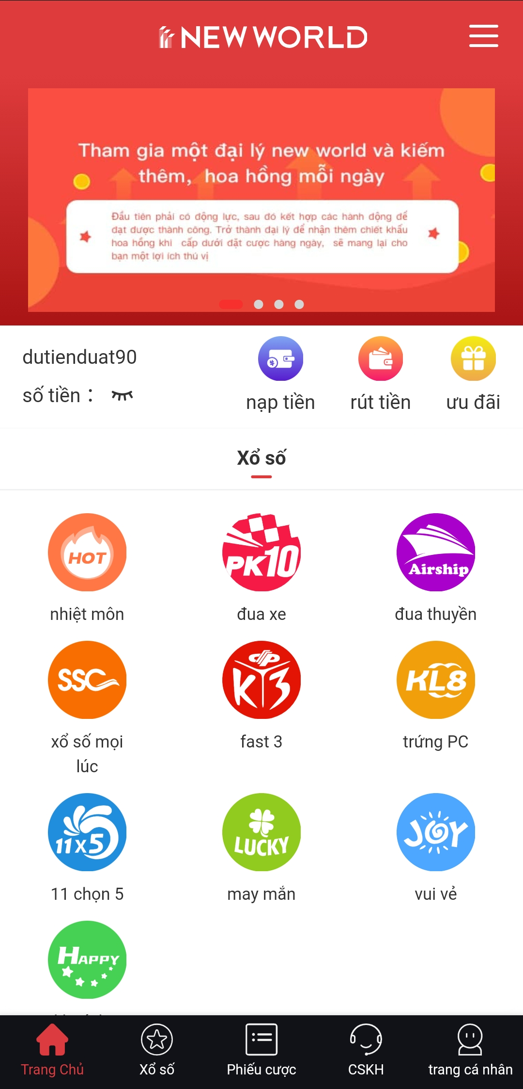 Tải app new-world cho android