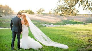 Tucker And Amanda On Their Wedding Day