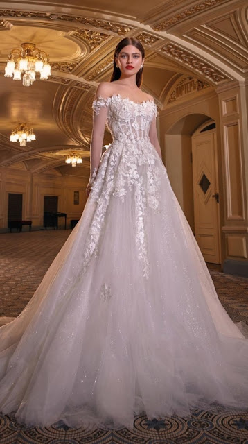 K'Mich Weddings - wedding planning - white wedding dresses - lynn - galia lahav-fall-2019