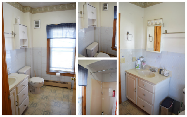 DIY Bathroom Before Picture
