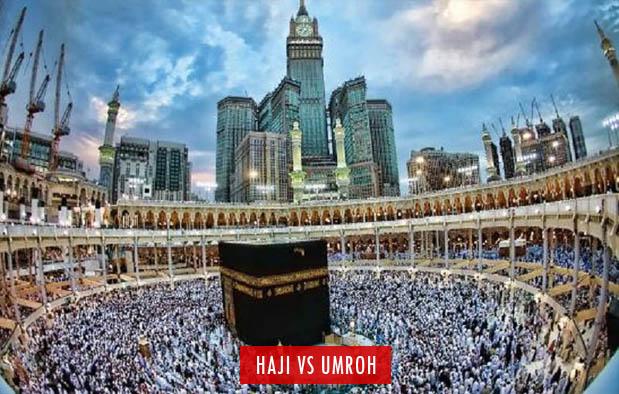 Perbedaan Haji dan Umroh adalah