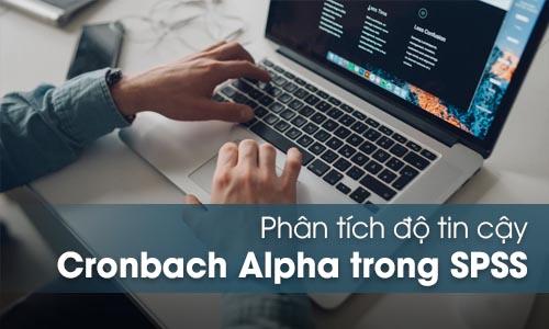 Phân tích độ tin cậy Cronbach's Alpha trong SPSS