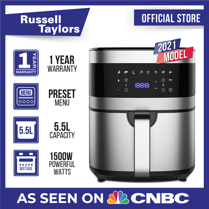 Russell Taylors Digital Air Fryer 5.5L AF-55