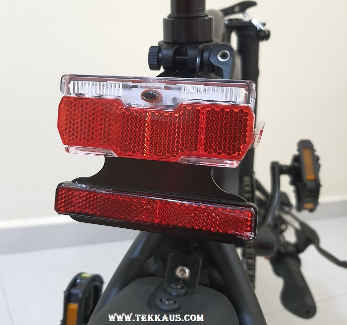 DYU D3+ Electric Bike Reflector Lights For Backseat Pedals