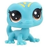 Littlest Pet Shop Series 3 Tubes Gary Geckov (#3-122) Pet