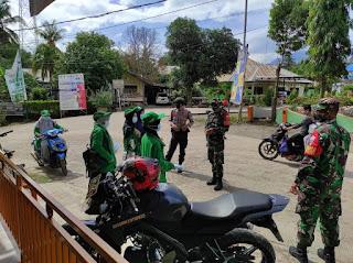 Personel Polsek Baraka Gencar Lakukan Operasi Yustisi Penegakan Disiplin Prokes