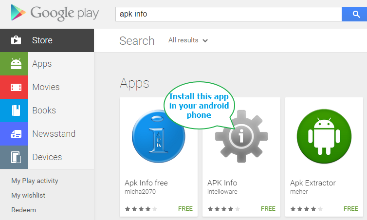 How To Find  Apk File Package Name And Launcher Activity Name