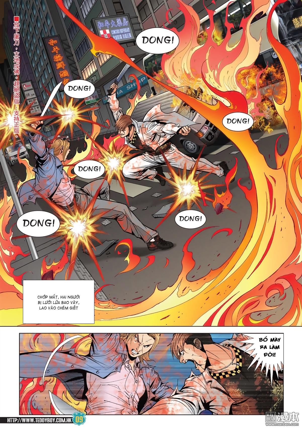 Người Trong Giang Hồ chapter 2038: thanh toán trang 8