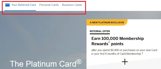 Amex Refer A Friend Different Card
