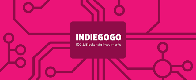 indiegogo token ico sale raised 18 Million Dollar