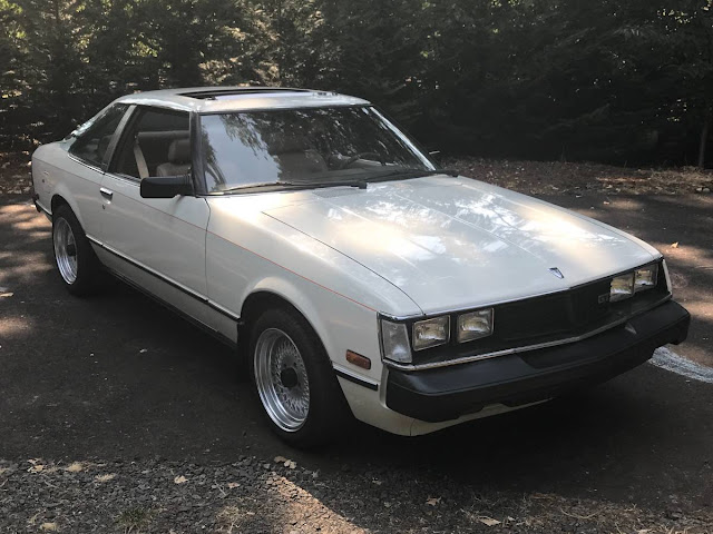 Daily Turismo: Japanese Pony: 1980 Toyota Celica GT