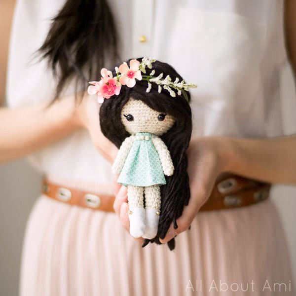 Primrose Crochet Dolls by All About Ami