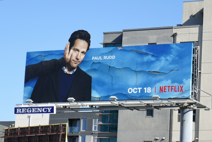 Paul Rudd Living With Yourself billboard