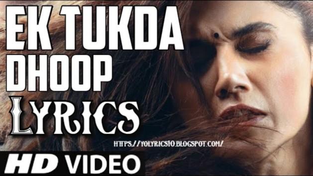 Ek Tukda Dhoop Lyrics - Thappad | YoLyrics