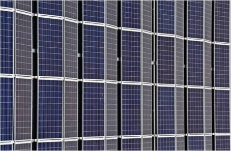 a lot of solar panels, symbolizing a wat to make your home eco-friendly