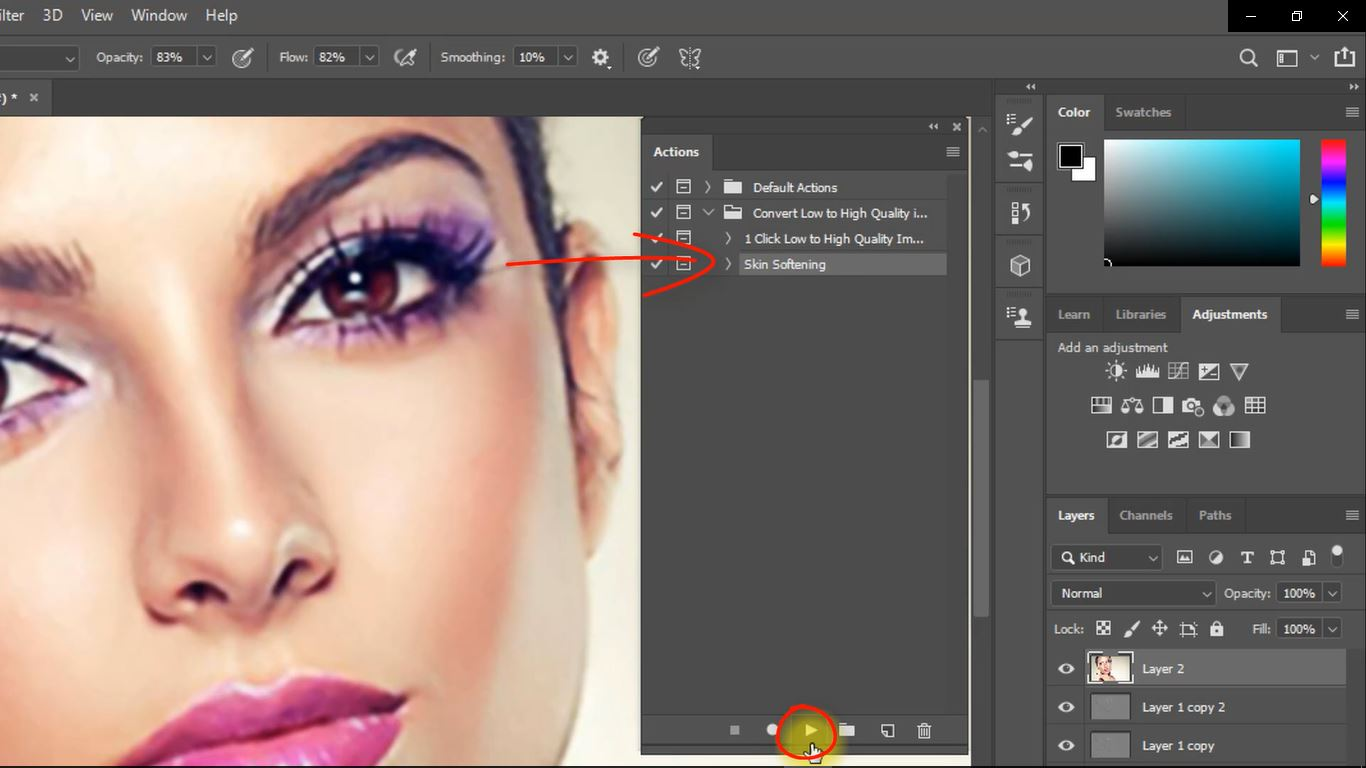 1 click convert into high quality photo in photoshop screenshot 5