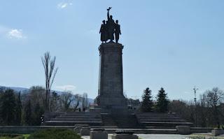 Parque del Monumento Soviético.