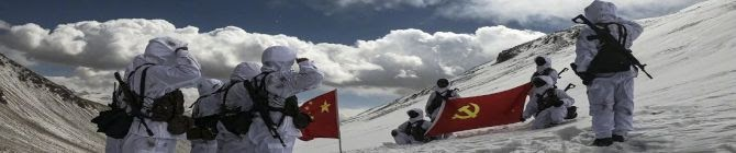 Chinese's PLA Carries Out Night Battle Drill At 16,000 Feet Height Near Indian Border
