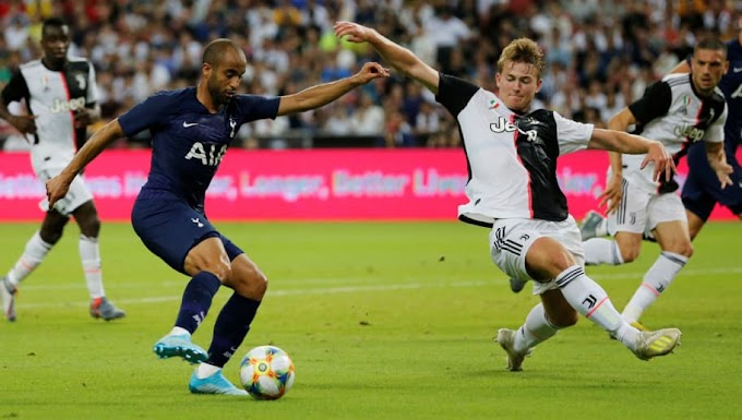#Twitter Reacts as Lucas Moura Once Again Haunts Matthijs de Ligt, This Time on His Juventus Debut
