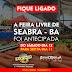 SEABRA-BA: A FEIRA LIVRE FOI ANTECIPADA PARA SEXTA-FEIRA DIA 11