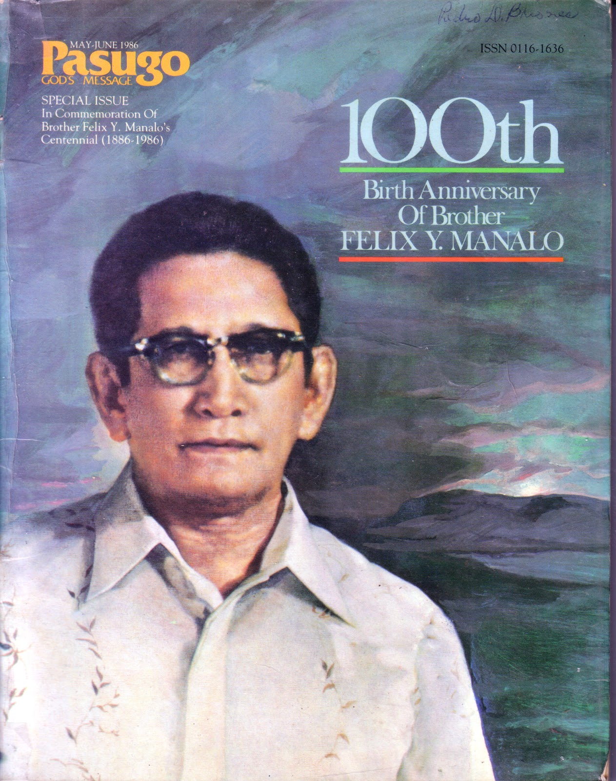 THE PRISTINE TRUTH: FELIX Y  MANALO: WHY HE CHANGED HIS NAME
