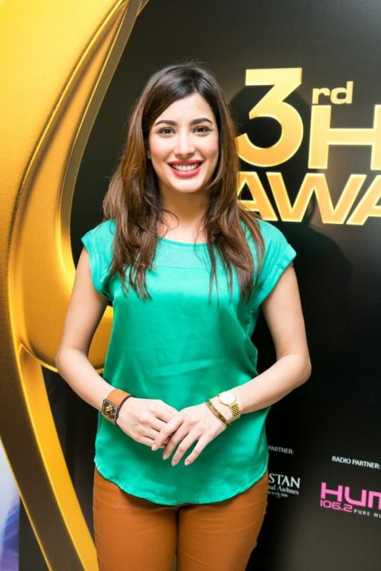 Mehwish Hayat pics on Hum Award