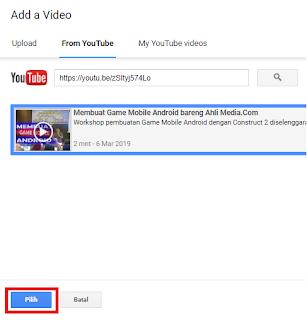 Cara Menyisipkan Video Youtube dalam Postingan Blog