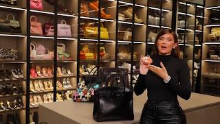Watch what's inside Kylie Jenner's $24K Birkin Bag!