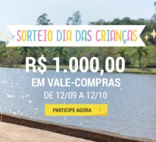 Cadastrar Promoção Decathlon Dia das Crianças 2020 Sorteio Vale-Compras 1 Mil Reais