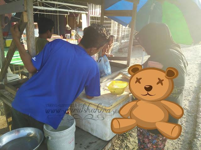 Ikan dan seafood murah dan segar di Batu Payung Tawau Sabah