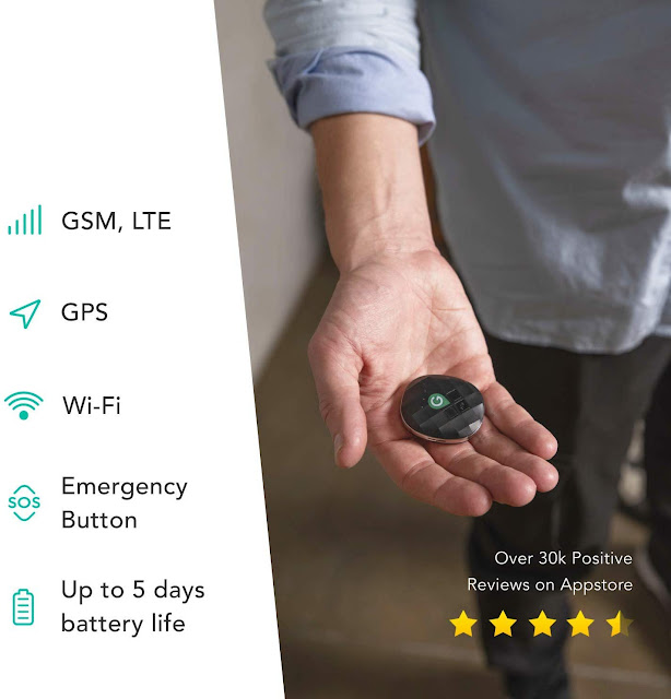 GeoZilla GPS Location Tracker for Kids, Elderly, Pets and Luggage