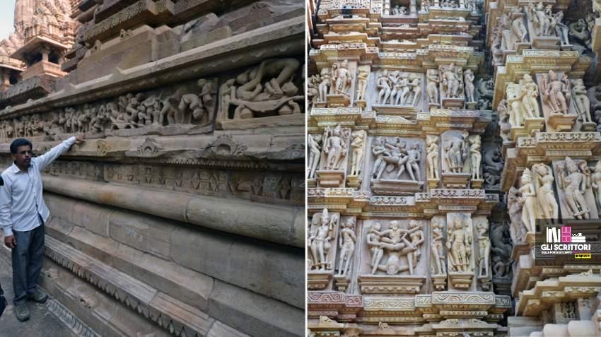 Khajuraho, Lakshmana temple e Kandarya Mahadeva temple