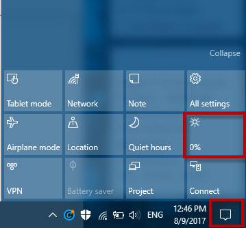 Cara Menerangkan dan Meredupkan Layar Monitor Laptop/Komputer di Windows 10