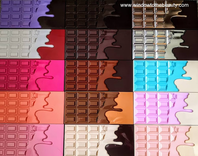 chocolate palettes