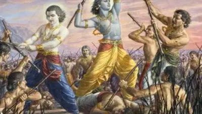 Krishna death story