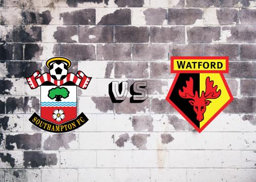 Southampton vs Watford  Resumen