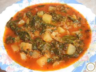 Mancare de stevie cu cartofi reteta de post cu ceapa ardei dovlecei gatita de casa taraneste retete culinare tocana tocanita legume,