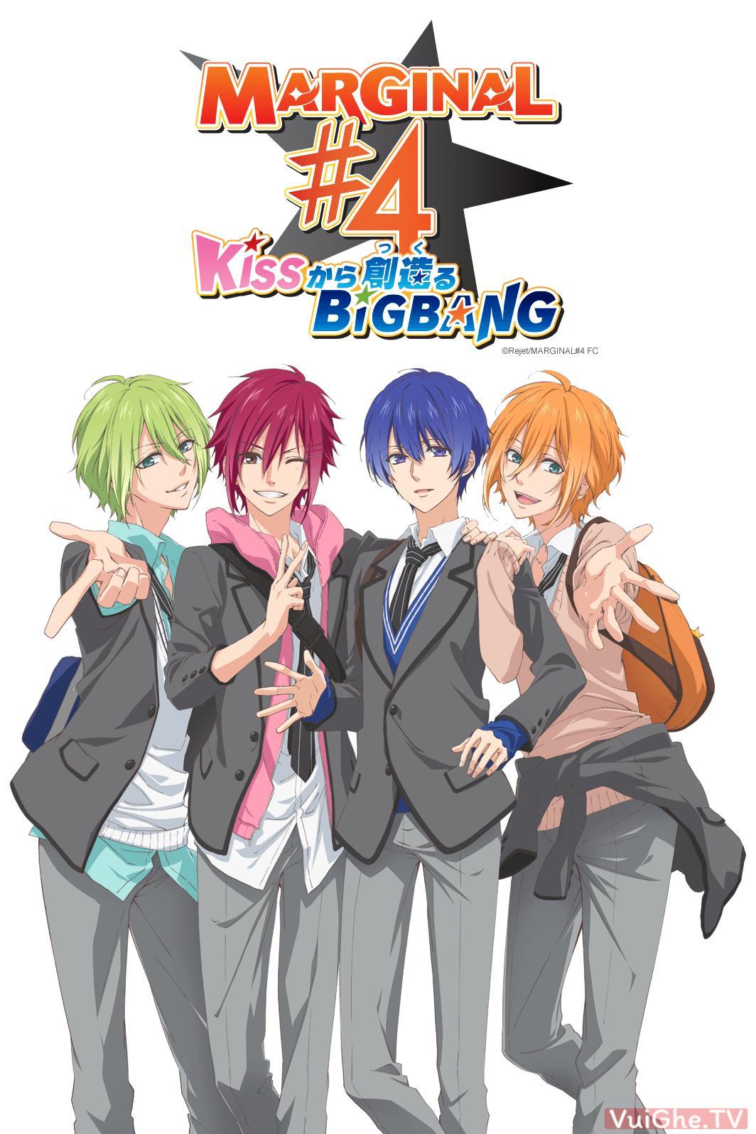 xem anime Ban nhạc thần tượng -Marginal 4: Kiss kara Tsukuru Big Bang