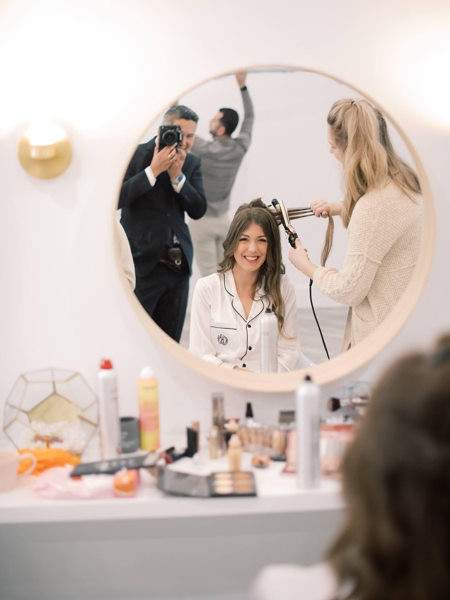 Wedding Hair and Makeup Charleston - Chasing Cinderella