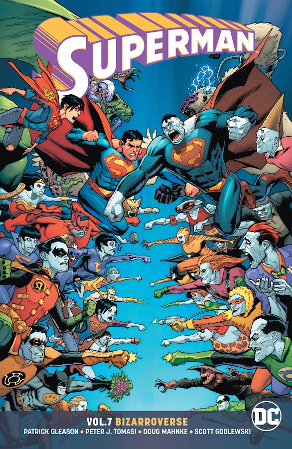 superman vol 7 bizarroverse dc rebirth patrick gleason