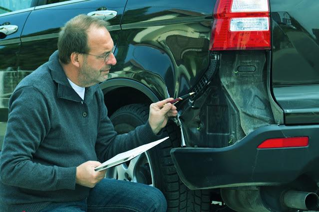 inspection des voitures d'occasion