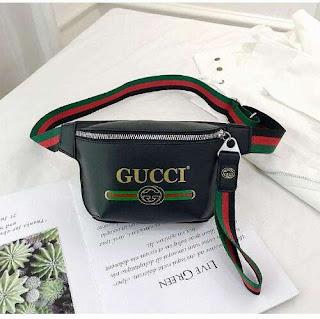 Gucci_woman_Pria_Pasangan_Tas_Pinggang_Kasual