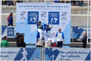 Συμμετοχή αθλητών S.O. Π.Ε. Εύβοιας στο 35ο Αυθεντικό μαραθώνιο της Αθήνας
