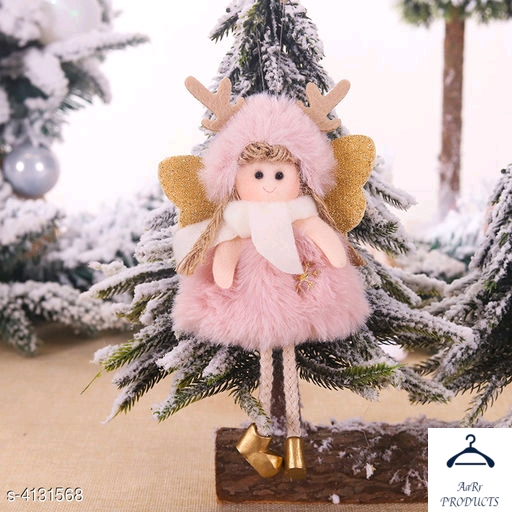 Graceful Christmas decorative dolls