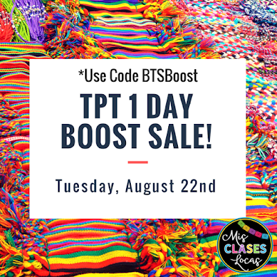 1st Week of School - TPT Site wide Sale